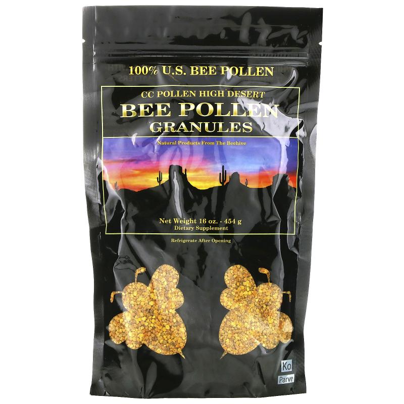 C.C. Pollen, High Desert, Bee Pollen Granules, 16 oz (454 g)