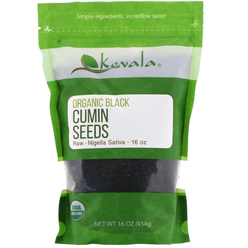 Kevala, Organic Black Cumin Seeds, 16 oz (453 g)