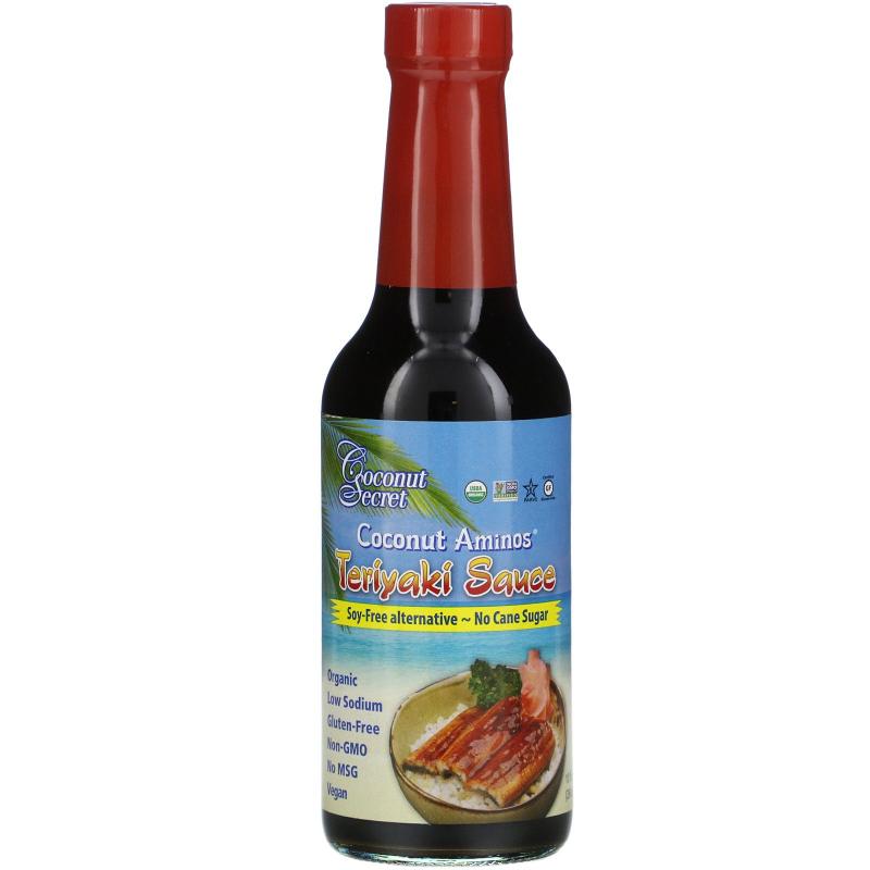 Coconut Secret, Teriyaki Sauce, Coconut Aminos, 10 fl oz (296 ml)
