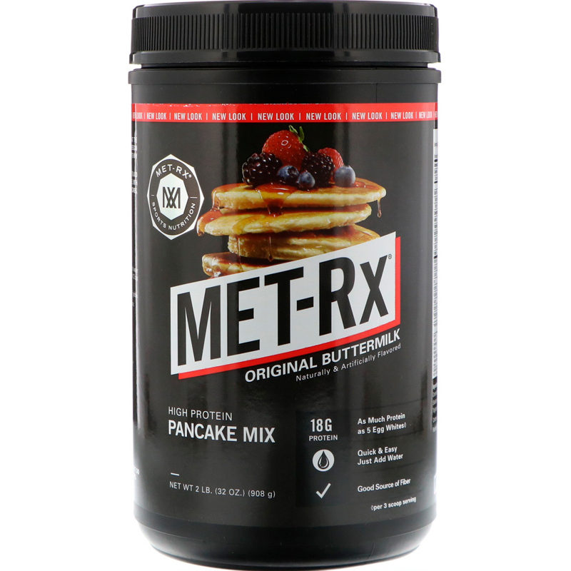 MET-Rx, High Protein Pancake Mix, Original Buttermilk, 2 lbs (908 g)