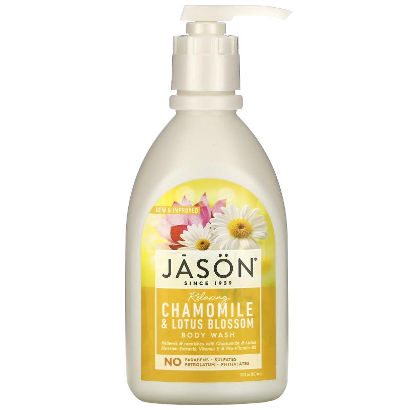Jason Natural, Body Wash, Relaxing Chamomile, 30 fl oz (887 ml)