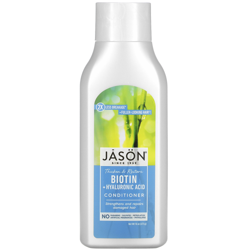Jason Natural, Conditioner, Restorative Biotin, 16 oz (454 ml)