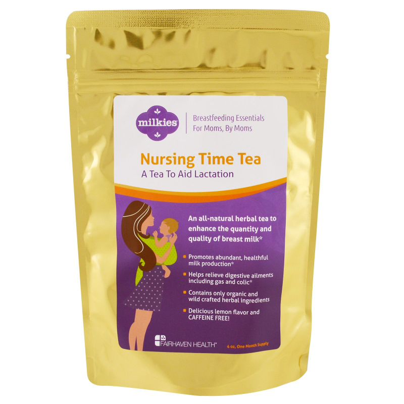 Fairhaven Health, Nursing Time Tea, Lemon Flavor, 4 oz