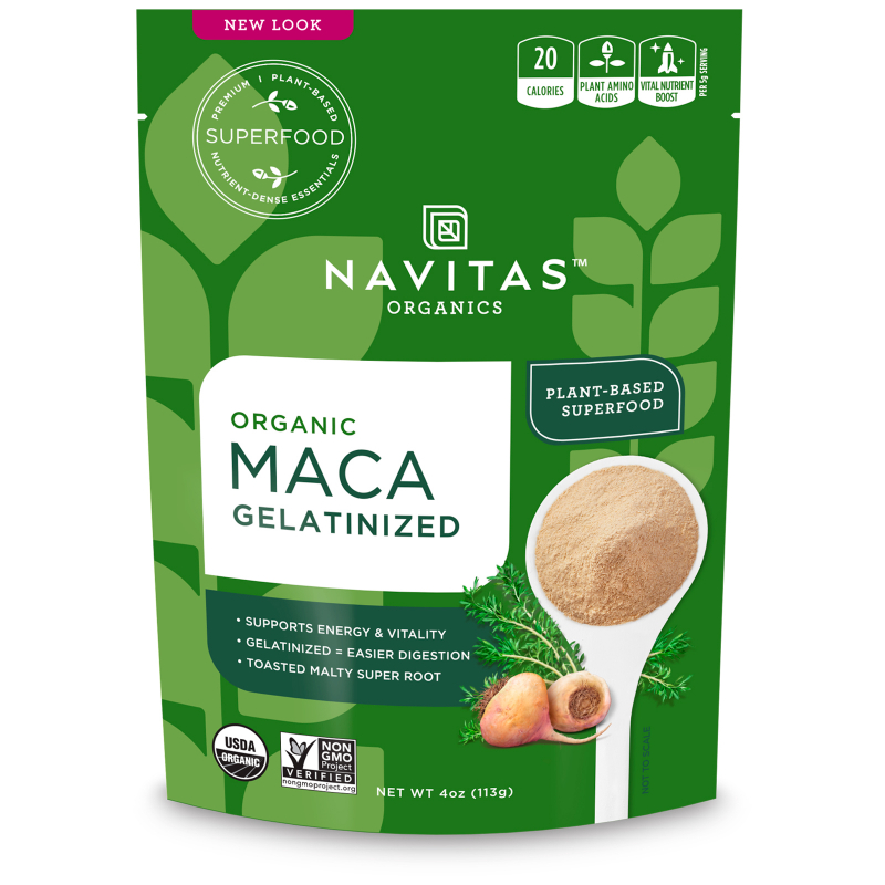 Navitas Organics, Organic, Maca, Gelatinized, 4 oz (113 g)