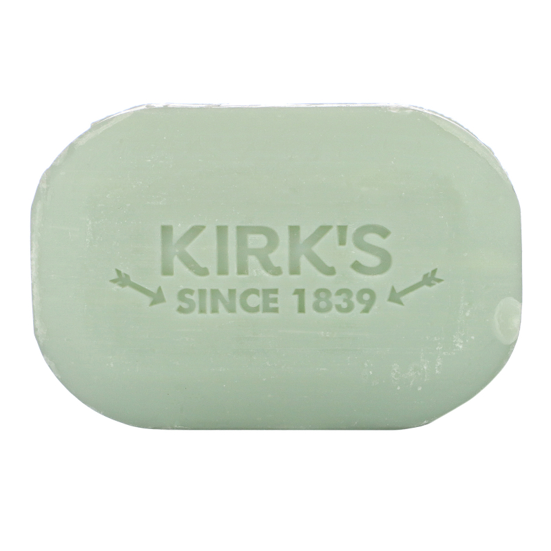 Kirk's, Original Cocoa Castile Soap, With Aloe Vera, 4 oz (113 g)