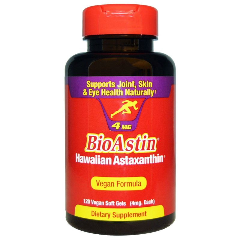Nutrex Hawaii, BioAstin, 4 mg, 120 Vegan Soft Gels