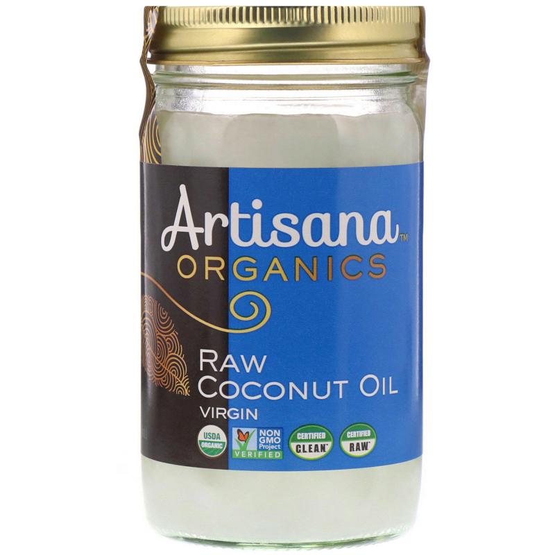 Artisana, Organics, Raw Coconut Oil, Virgin, 14 oz (414 g)