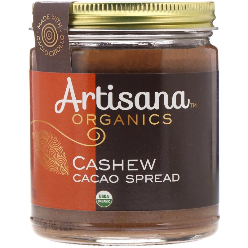 Artisana, Organics, Cashew Cacao Spread, 8 oz (227 g)