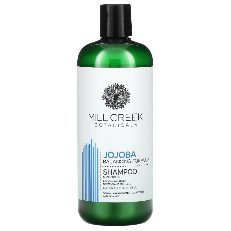 Mill Creek Botanicals, Jojoba Shampoo, Balancing Formula, 14 fl oz (414 ml)