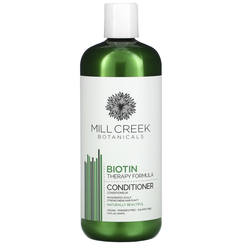 Mill Creek Botanicals, Biotin Conditioner, Therapy Formula, 14 fl oz (414 ml)
