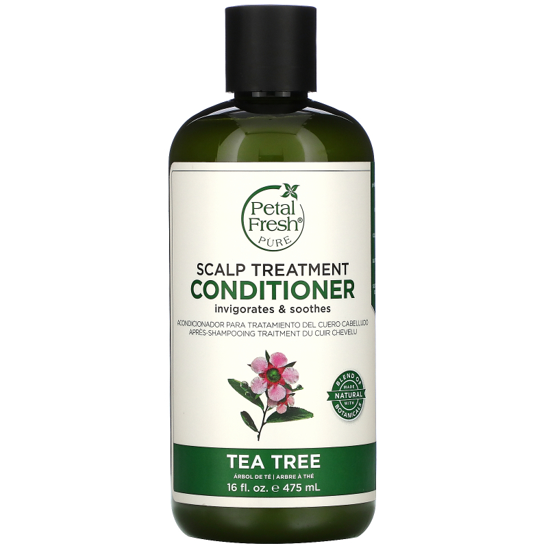 Petal Fresh, Pure, Scalp Treatment Conditioner, Tea Tree, 16 fl oz (475 ml)