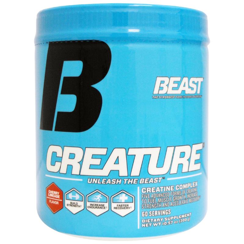 Beast Sports Nutrition, Creature Powder, Cherry Limeade, 10.57 oz (300 g)
