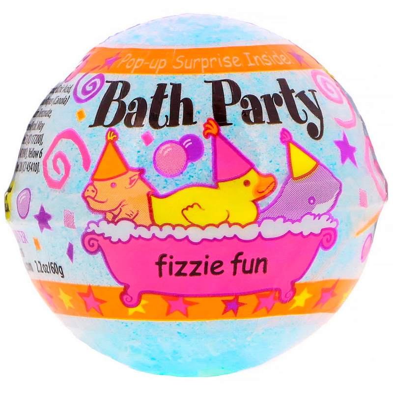 Smith & Vandiver, Bath Party Fizzie Fun, 2.2 oz (60 g)