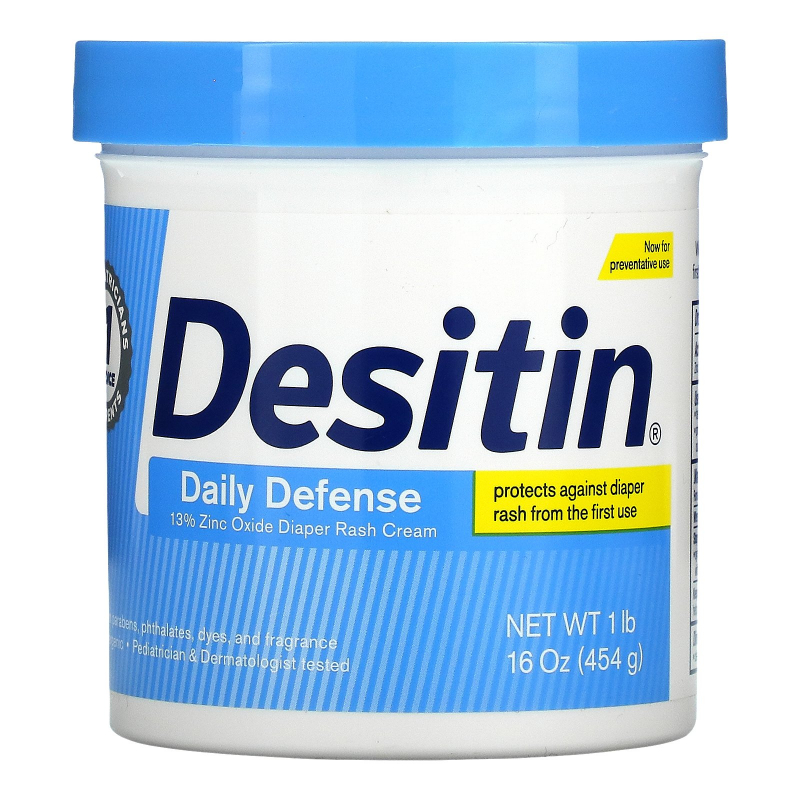 Desitin, Rapid Relief Cream, 16 oz (453 g)