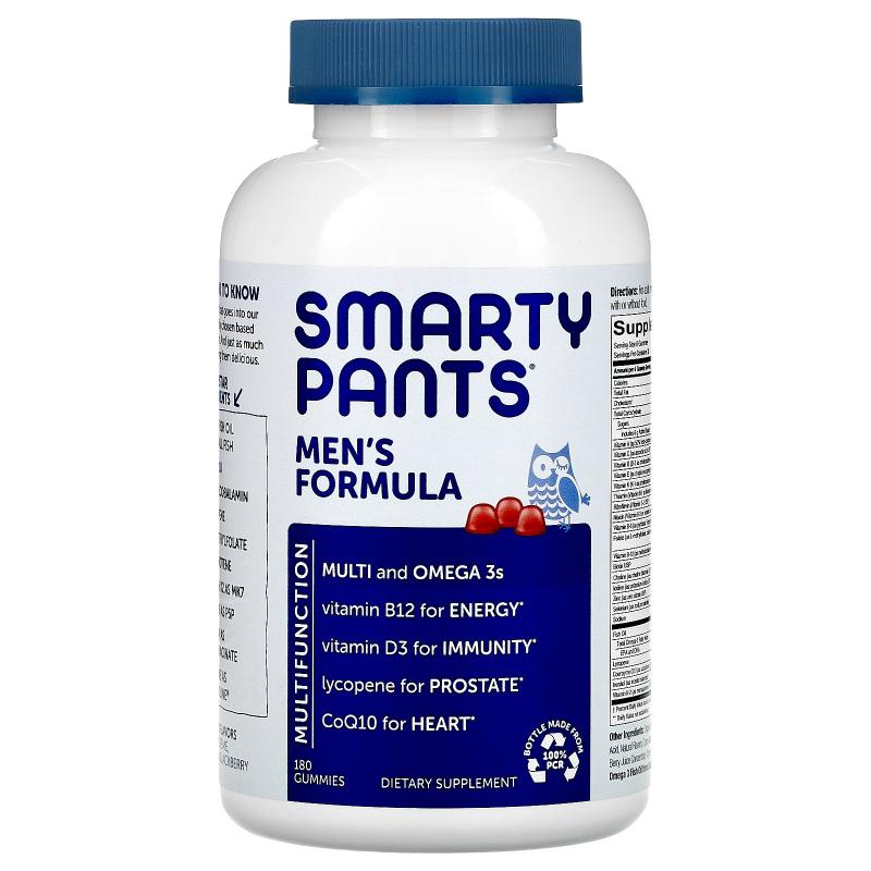 SmartyPants, Men's Complete, 180 Gummies