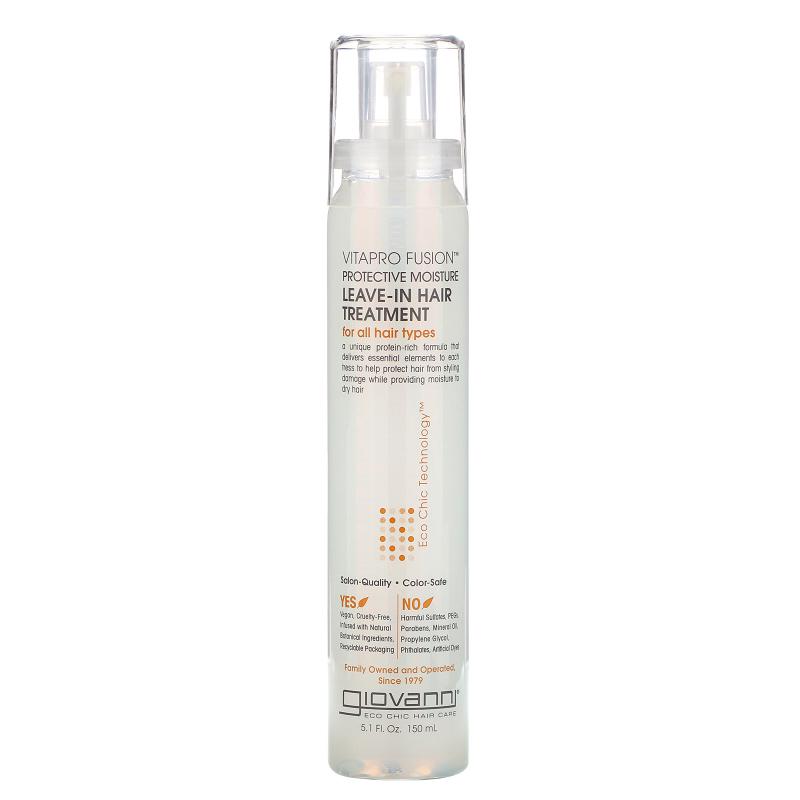 Giovanni, Vitapro Fusion, Protective Moisture, Leave-In Hair Treatment, 5.1 fl oz (150 ml)
