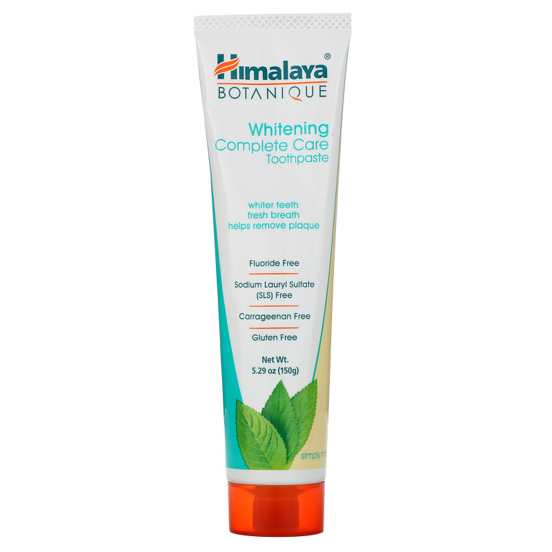 Himalaya, Botanique, Whitening Complete Care Toothpaste, Simply Mint, 5.29 oz (150 g)