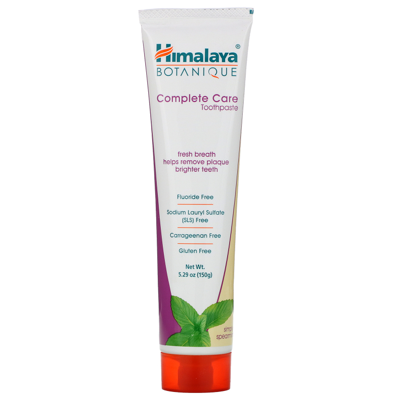 Himalaya, Botanique, Complete Care Toothpaste, Simply Spearmint, 5.29 oz (150 g)