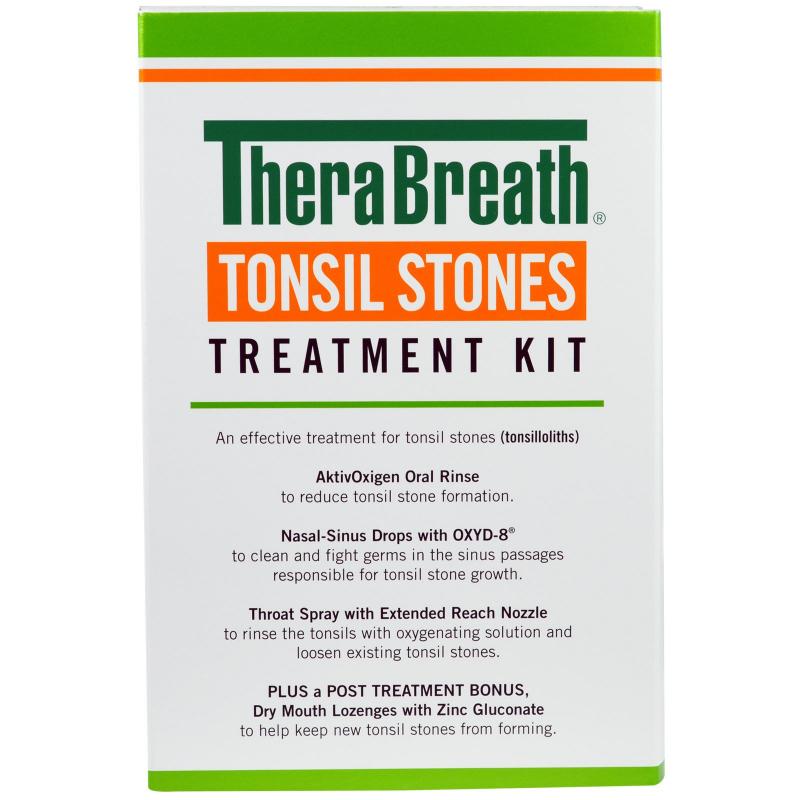TheraBreath, Tonsil Stones Treatment Kit, 5 Piece Kit