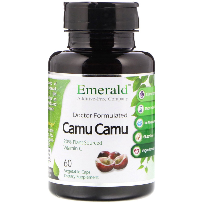 Emerald Laboratories, Camu Camu, 60 Vegetable Caps