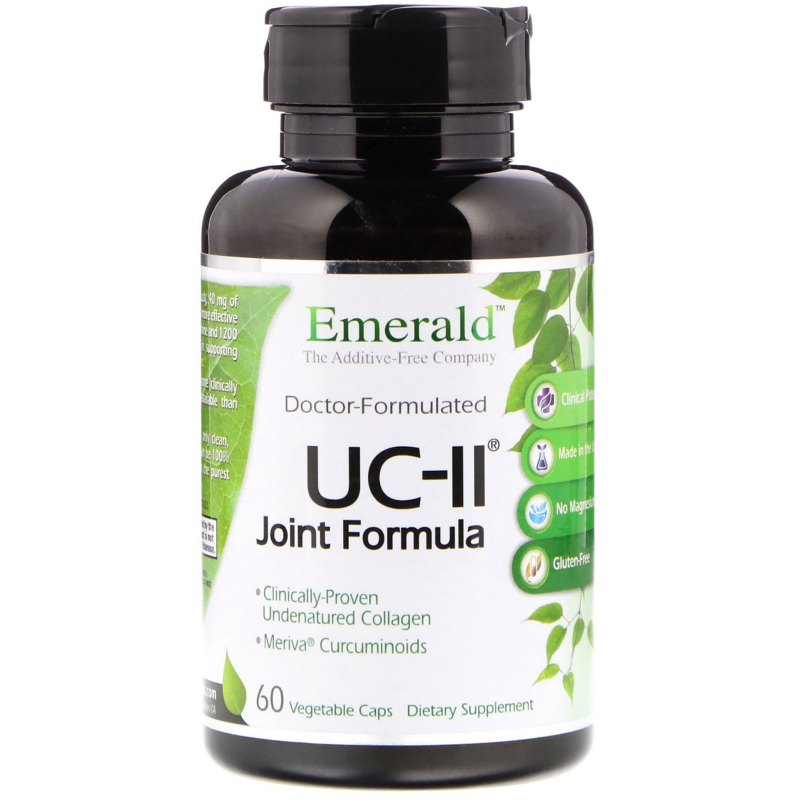Emerald Laboratories, UC-II Joint Formula, 60 Vegetable Caps
