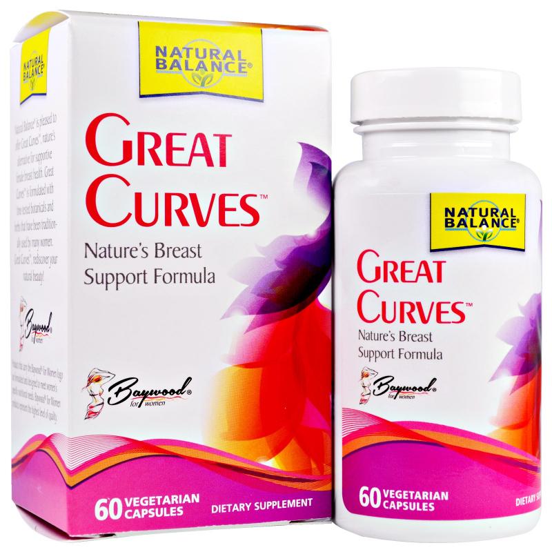Natural Balance, Great Curves, 60 Veggie Caps