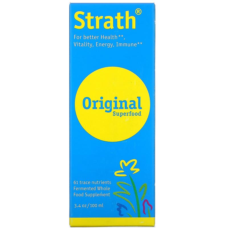 Bio-Strath, Whole Food Supplement, Stress & Fatigue Formula, 3.4 fl oz (100 ml) Liquid