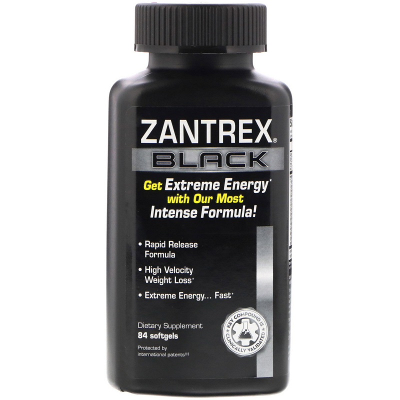 Zantrex, Zantrex Black, 84 Softgels