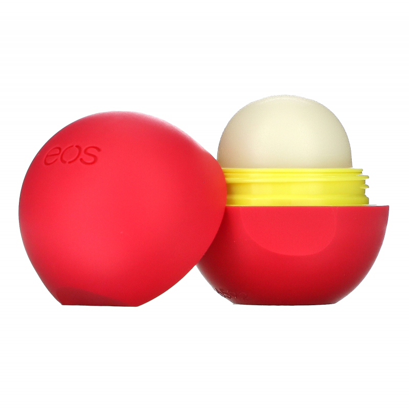 EOS, Visibly Soft Lip Balm Sphere, Coconut Milk, .25 oz (7 g)