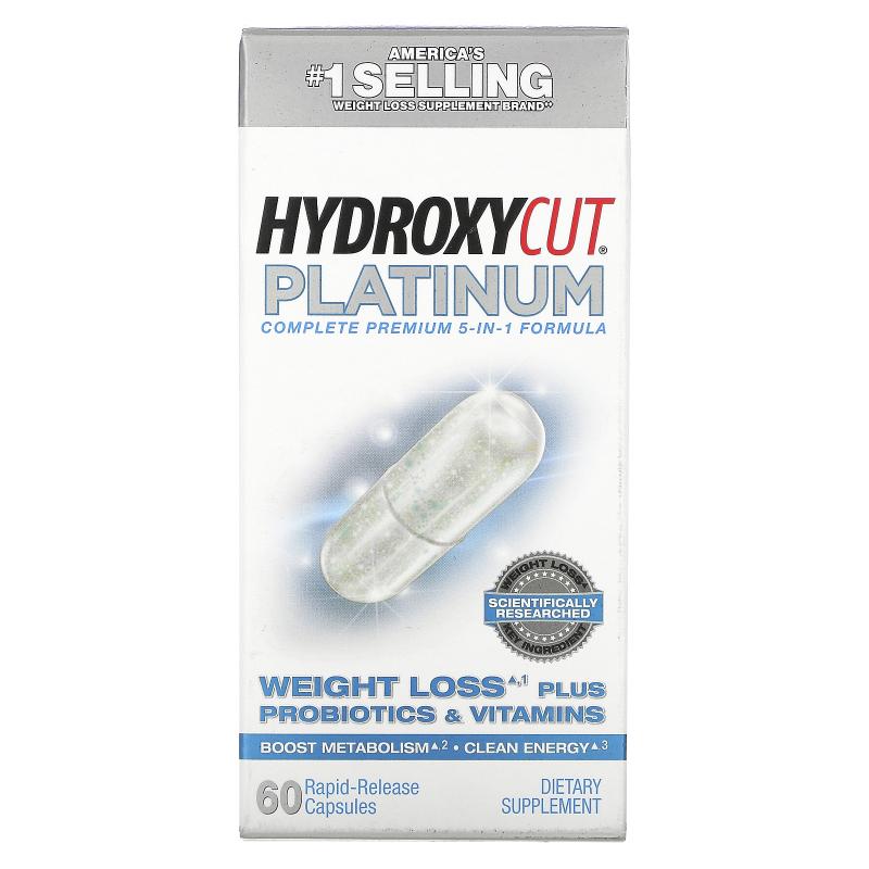 Hydroxycut, Hydroxycut Platinum, 60 Rapid-Release Capsules
