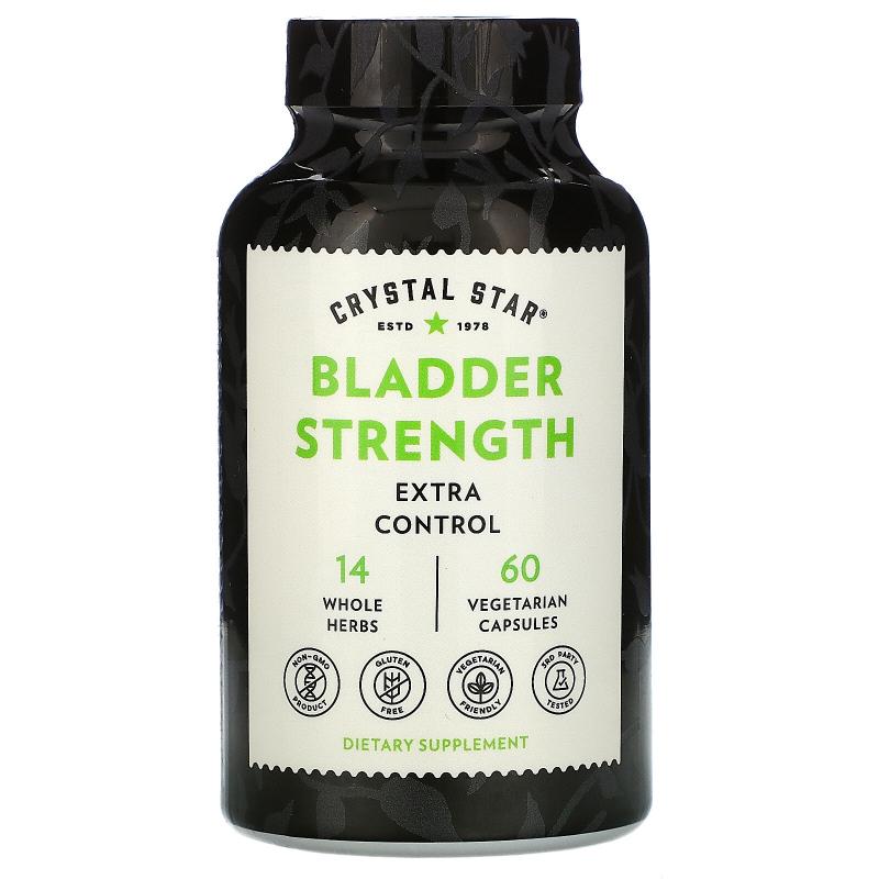 Crystal Star, Bladder Strength, 60 Veggie Caps