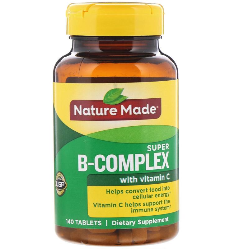 Nature Made, Super B-Complex, 140 Tablets
