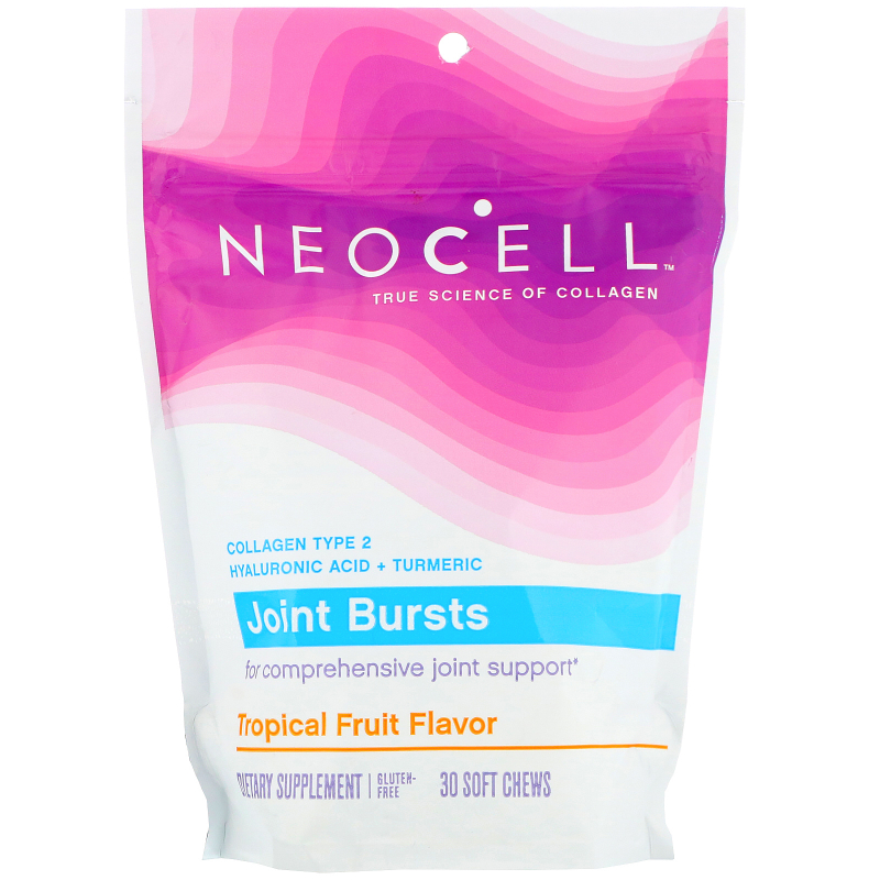 Neocell, Joint Bursts, Tropical Tang, 30 Soft Chews