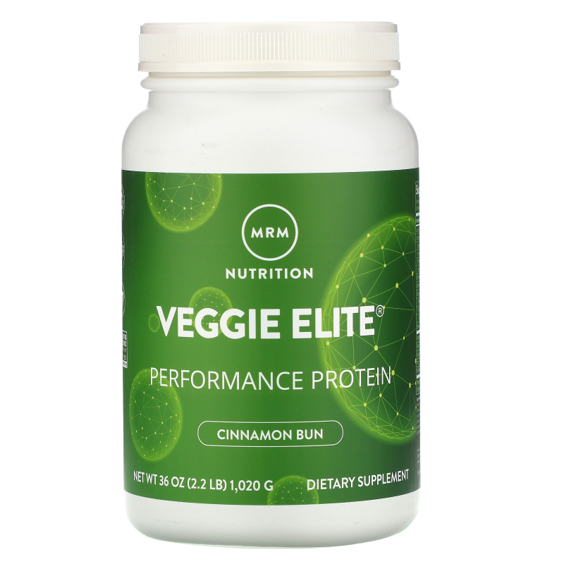 MRM, Smooth Veggie Elite, Performance Protein, Cinnamon Bun, 2.25 lbs (1,020 g)
