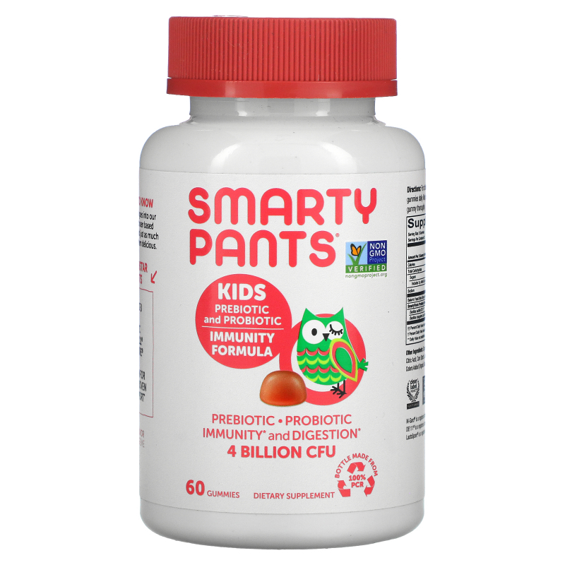 SmartyPants, Kids Probiotic Complete, Strawberry Creme, 60 Gummies