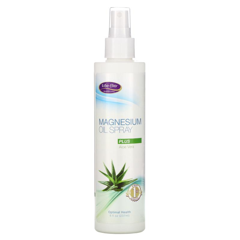 Life-flo, Life-Flor, Magnesium Oil Spray, Plus Aloe Vera, 8 fl oz (237 ml)