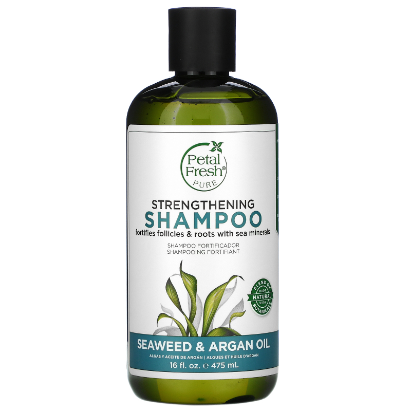 Petal Fresh, Pure, Strengthening Shampoo, Seaweed & Argan Oil, 16 fl oz (475 ml)