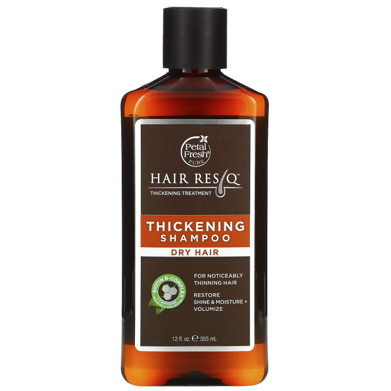 Petal Fresh, Pure, Hair Rescue, Thickening Treatment Shampoo,  for Dry Hair, 12 fl oz (355 ml)