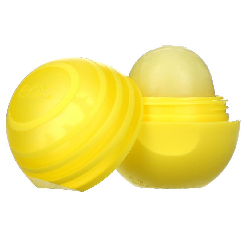 EOS, Lip Balm with SPF 15, Lemon Twist, .25 oz (7 g)