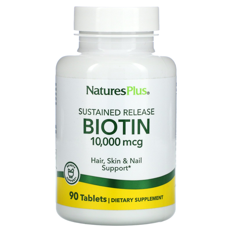 Nature's Plus, Biotin, Sustained Release, 90 Tablets