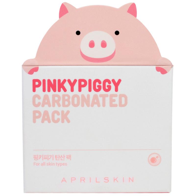 April Skin, PinkyPiggy Carbonated Pack, 3.38 oz (100 g)