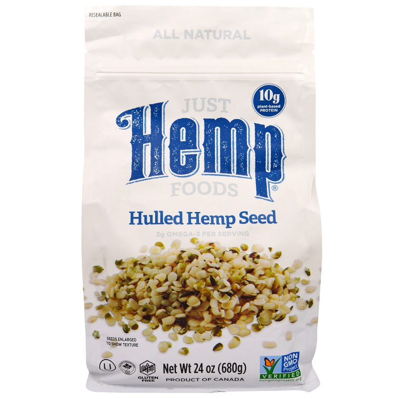 Just Hemp Foods, Hulled Hemp Seeds, 1.5 lbs (680 g)