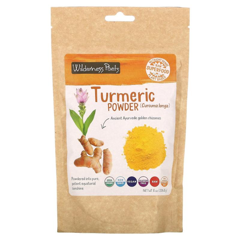 Wilderness Poets, Turmeric Powder, 8 oz (226.8 g)