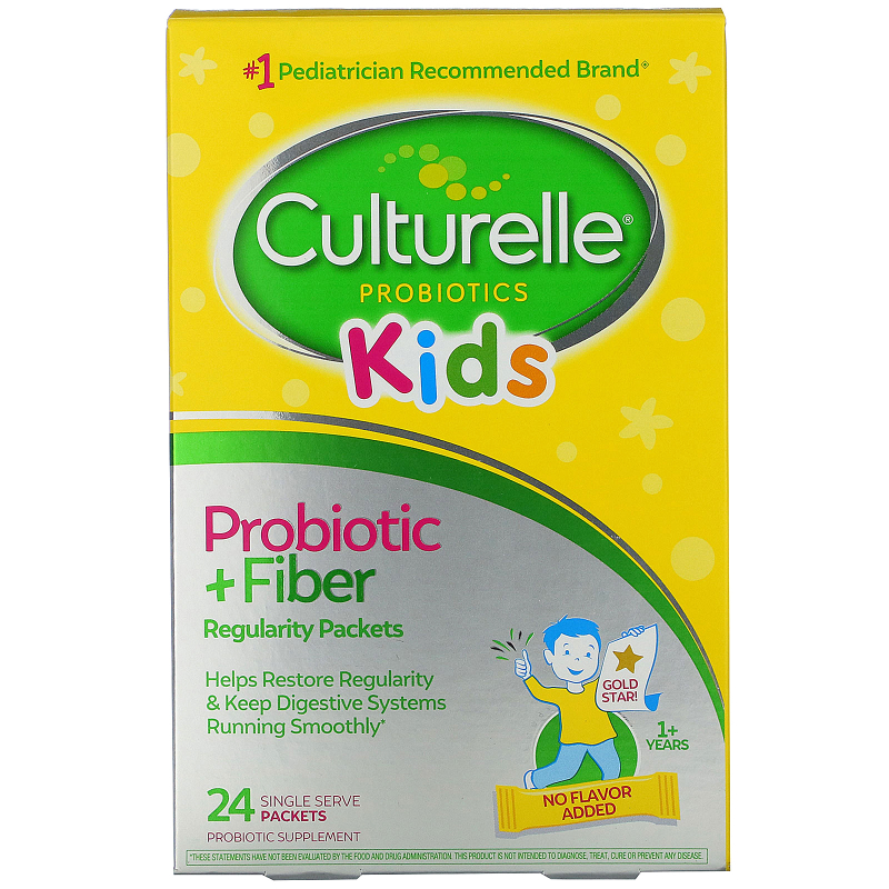 Culturelle, Probiotics, Kids, Regularity, 24 Single Serve Packets