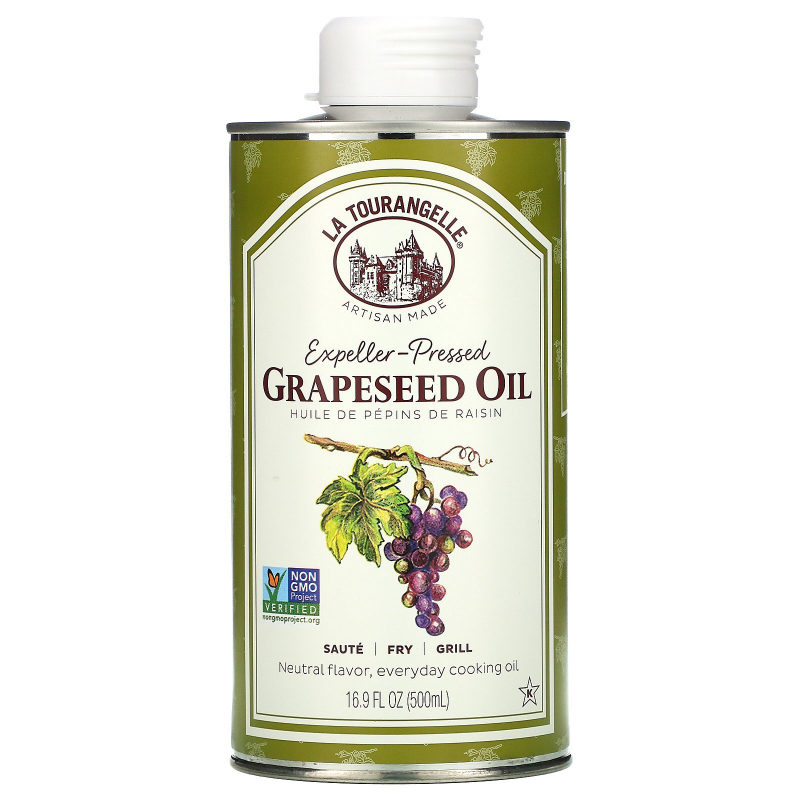 La Tourangelle, Grapeseed Oil, 16.9 fl oz (500 ml)