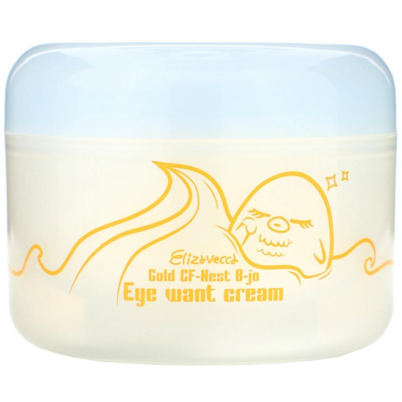Elizavecca, Gold CF-Nest-B-Jo Eye Want Cream, 100 ml