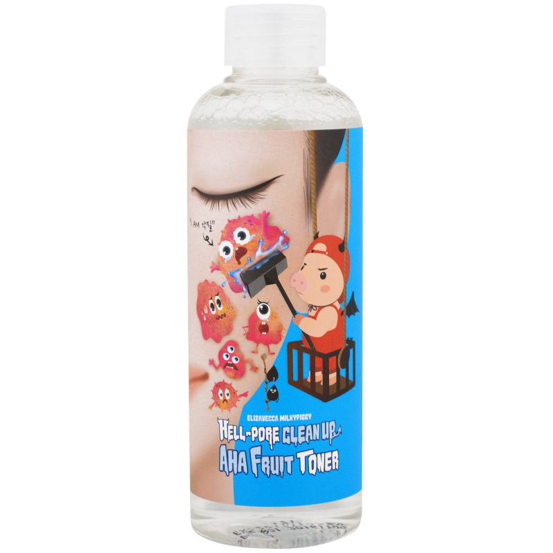 Elizavecca, Hell-Pore Clean Up, AHA Fruit Toner , 200 ml