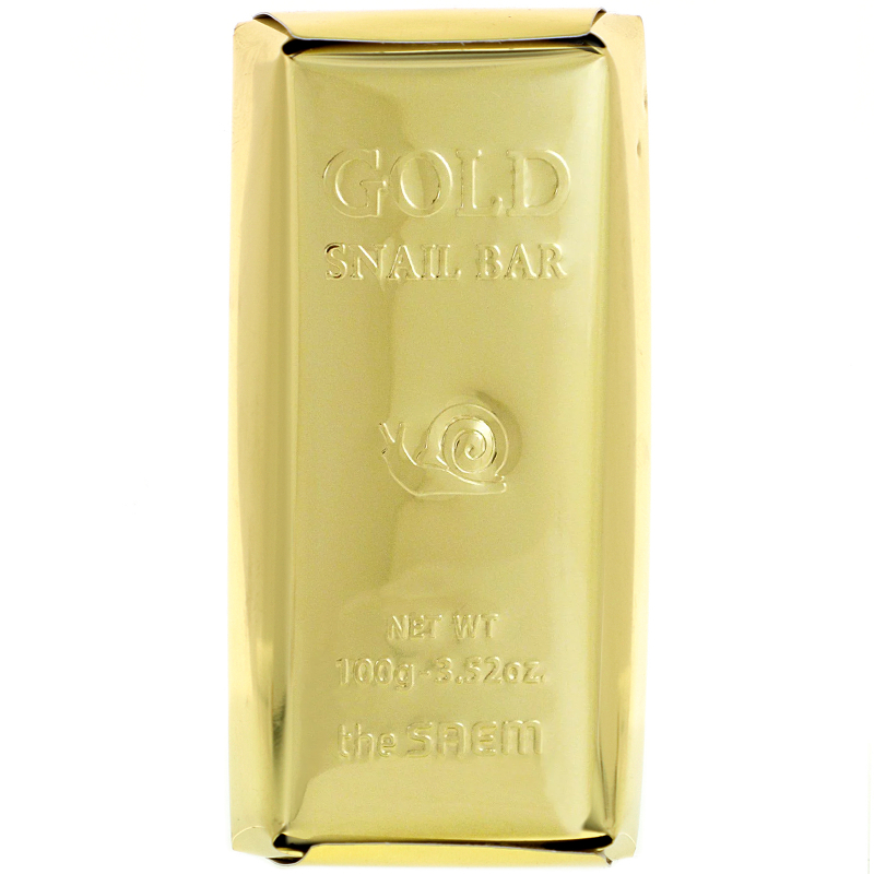 The Saem, Gold Snail Bar, 3.52 oz (100 g)