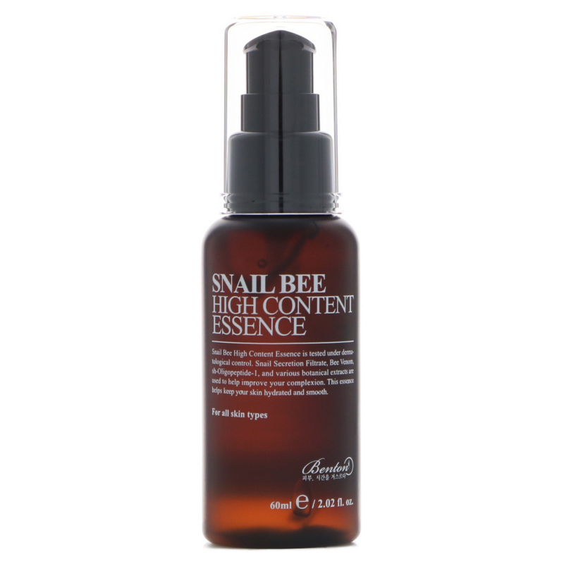 Benton, Snail Bee High Content Essence, 2.02 fl oz (60 ml)