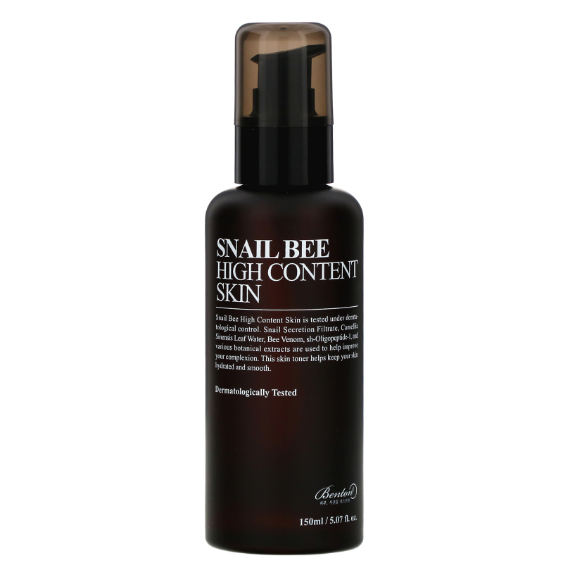 Benton, Snail Bee, High Content Skin, 150 ml
